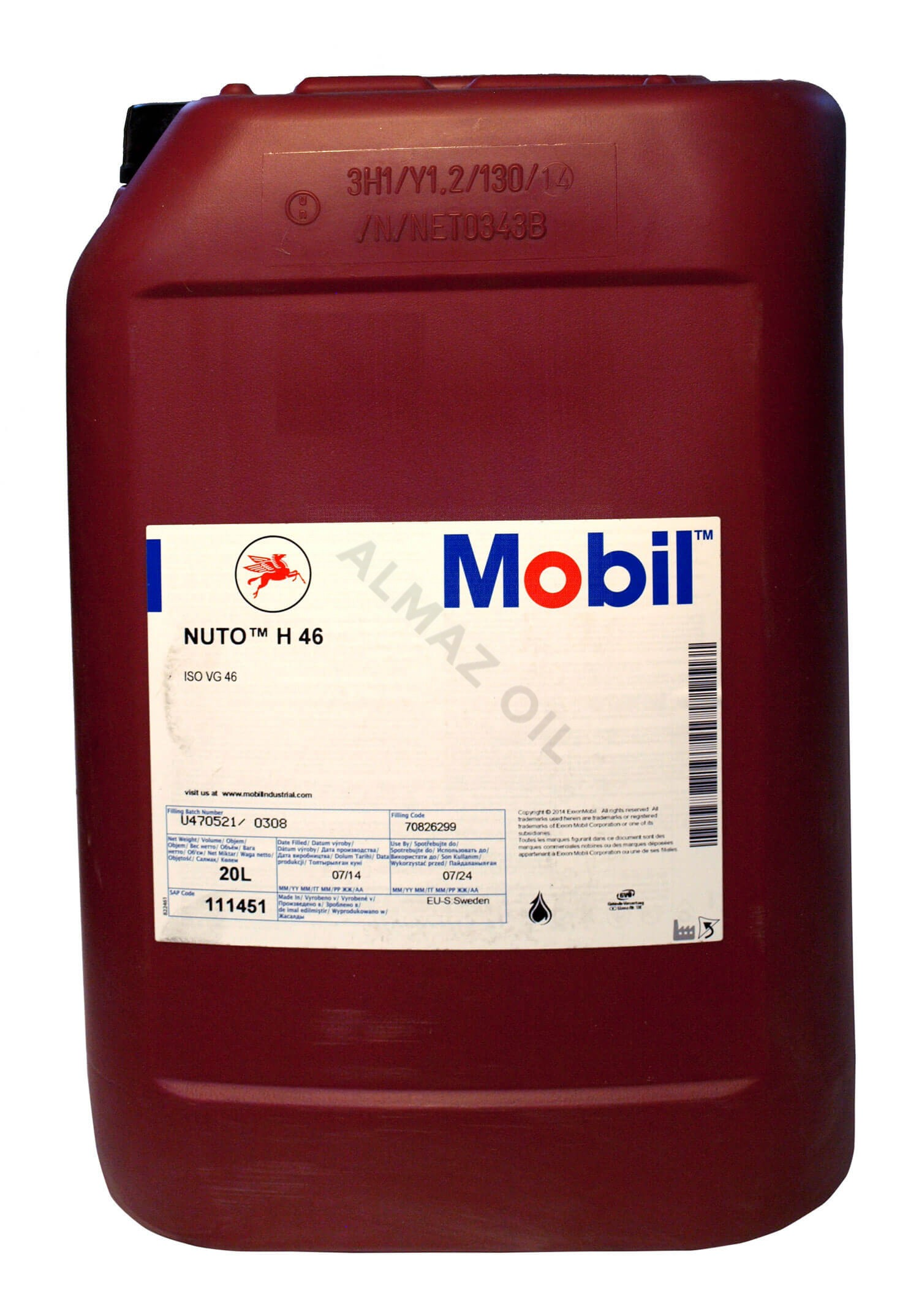Mobil Nuto H 46