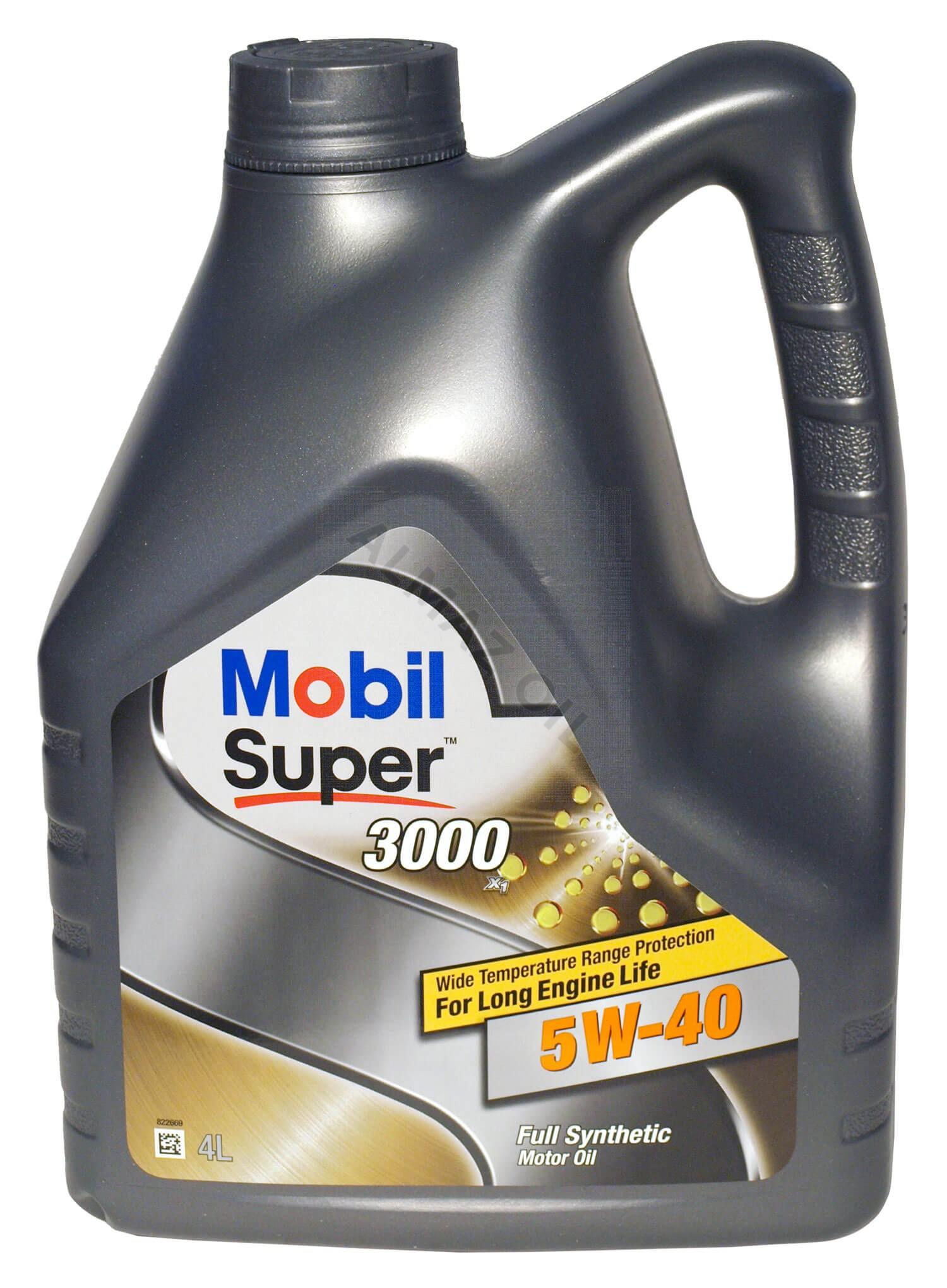 Mobil Super 3000 X1 5W40 Цена
